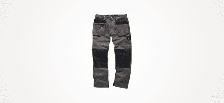 Scruffs Worker Trousers Black Graphite Grey Navy Men/'s Work Combat Cargo Pants